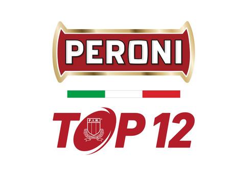 Peroni TOP12, il calendario dei posticipi domenicali