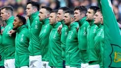 Il XV irlandese che affronterà l'Italia all'Olimpico