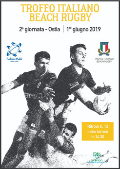 Sabato ad Ostia la seconda tappa del Trofeo Italiano Beach Rugby