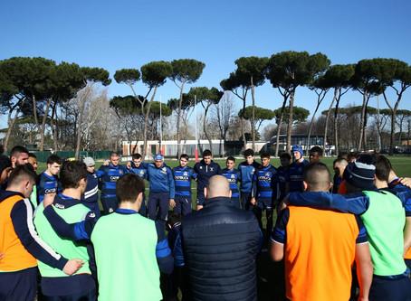 La Selezione Italia U20 batte 18-10 la Francia U20 Développment a Napoli