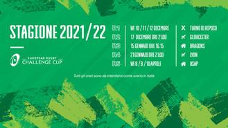 Le date ufficiali dei primi quattro round di Challenge Cup dei Leoni