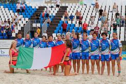 Le Azzurre del Beach a Caorle il 22 giugno in vista degli europei di Mosca