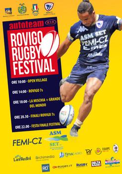 """Domani al """"Battaglini"""" va in scena l'Autoteam Kia Rovigo Rugby Festival"""