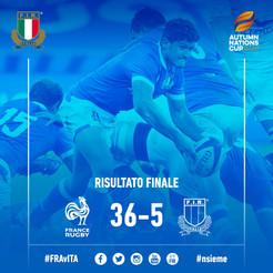 La Francia vince 36-5 e vola in finale; decide il giallo a Trulla: Italia ai playoff per il 5° posto