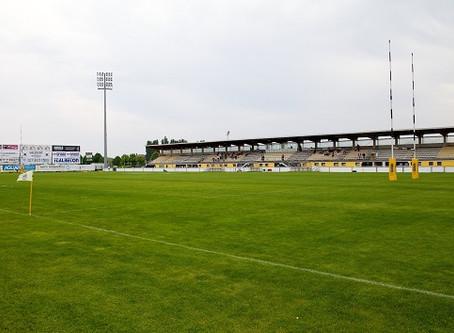 La sfida di sabato 7 dicembre tra Zebre e Brive si giocherà al Pata Stadium di Calvisano