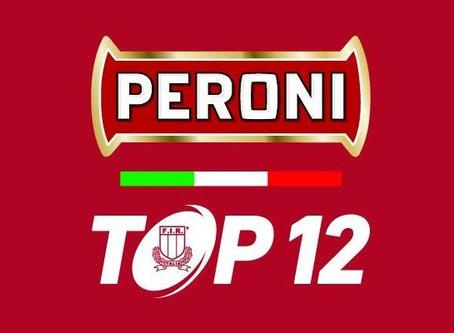 Peroni TOP12, la presentazione della sesta giornata di campionato