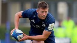 Champions Cup: Sexton fuori, Ross Byrne gestirà la mediana del Leinster nel derby contro Ulster