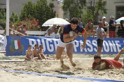 3 tappe di Beach Rugby nel weekend da Caorle a Trani