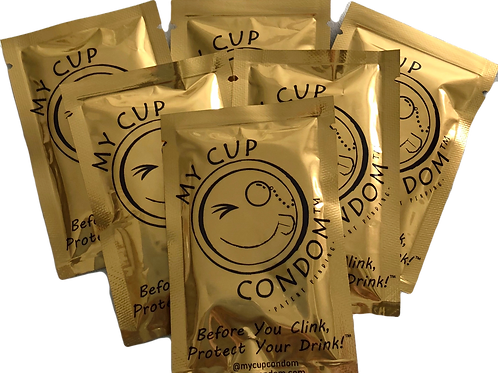 My Cup Condom™  6 - Pack