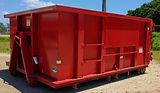 10 cubic yard dumpster bin