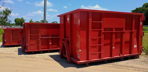 Bin Tech Dumpster Rental Fleet