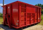15 cubic yard dumpster bin