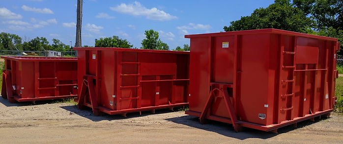 Bin Tech Dumpster Rental Fleet