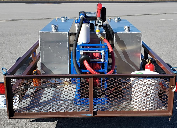 Fuel Trailer with Fuel Delivery System