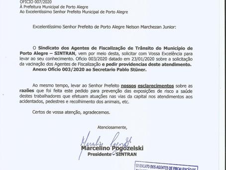 SINTRAN REFORÇA PEDIDO DE VACINAS DA GRIPE