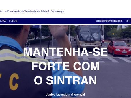 O site do SINTRAN está de cara nova!