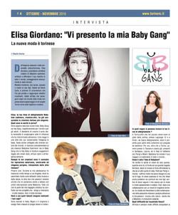 Torinerò - Elisa Giordano -baby GANG