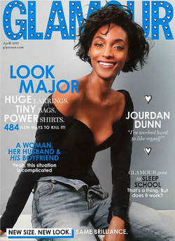 GLAMOUR UK cover