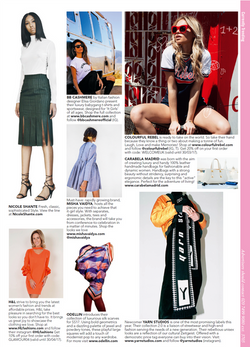 Current trends on Glamour UK