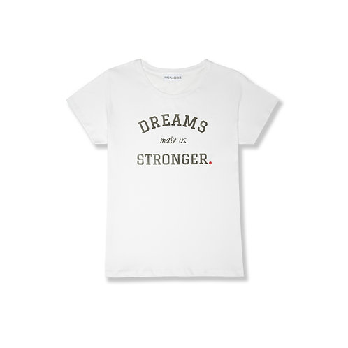 IRREPLACEABLE for THEODORA, T shirt solidale Woman fit