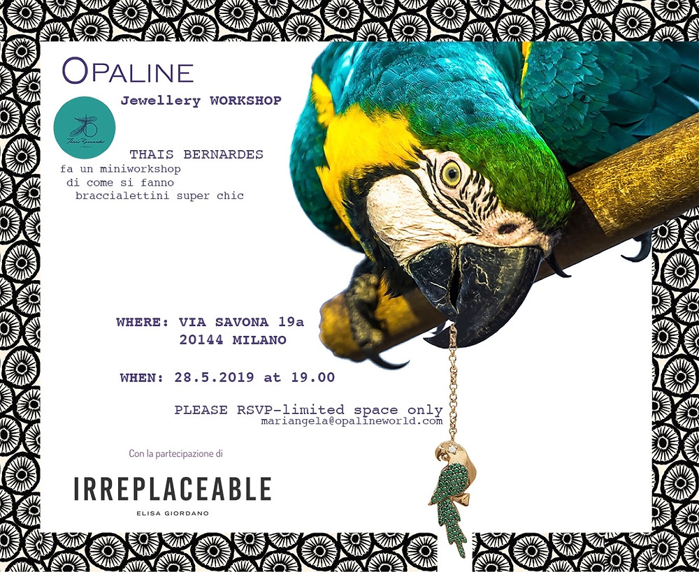 Irreplaceable Spring Summer pop up in Milano