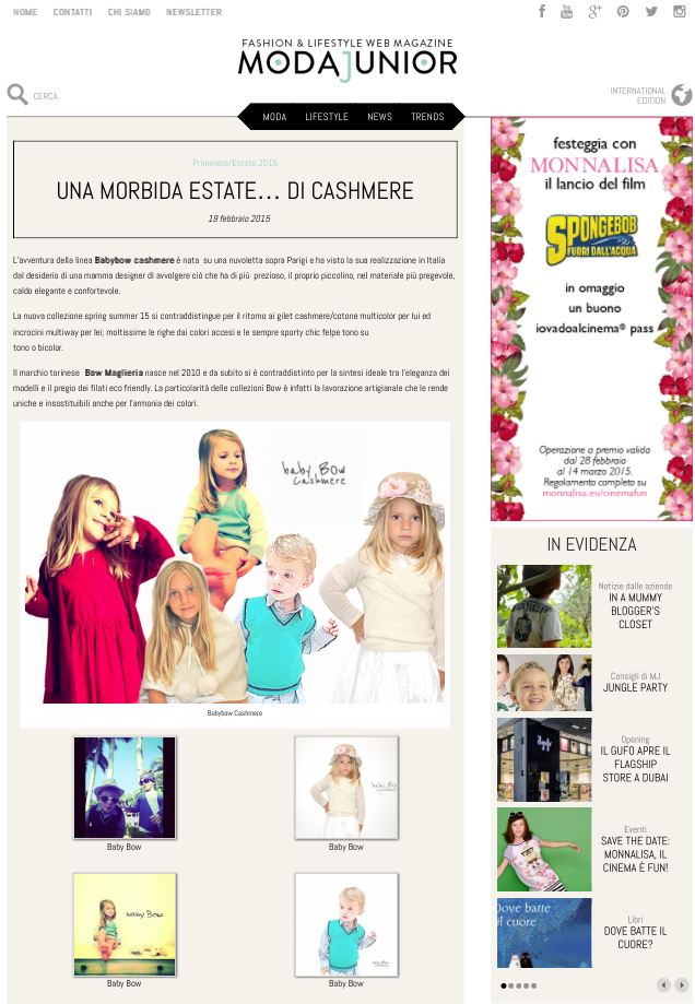 Special thanks to Moda Junior Fashion Magazine