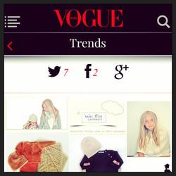 VOGUE ITALIA Trends