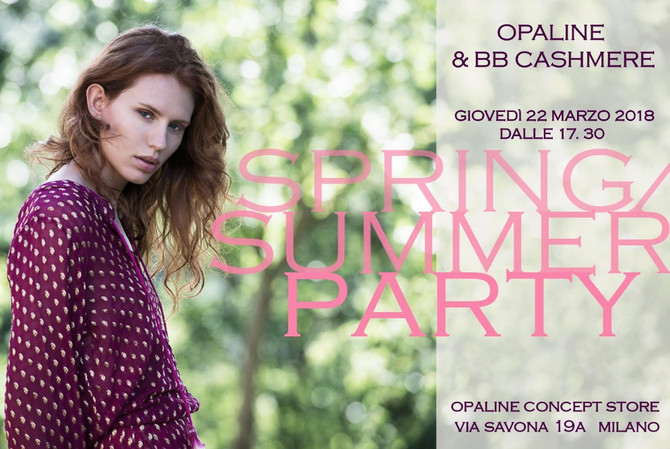SPRING/SUMMER PARTY, MILANO ITALY