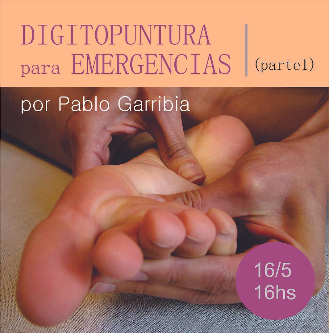 Digitopuntura y emergencias domésticas
