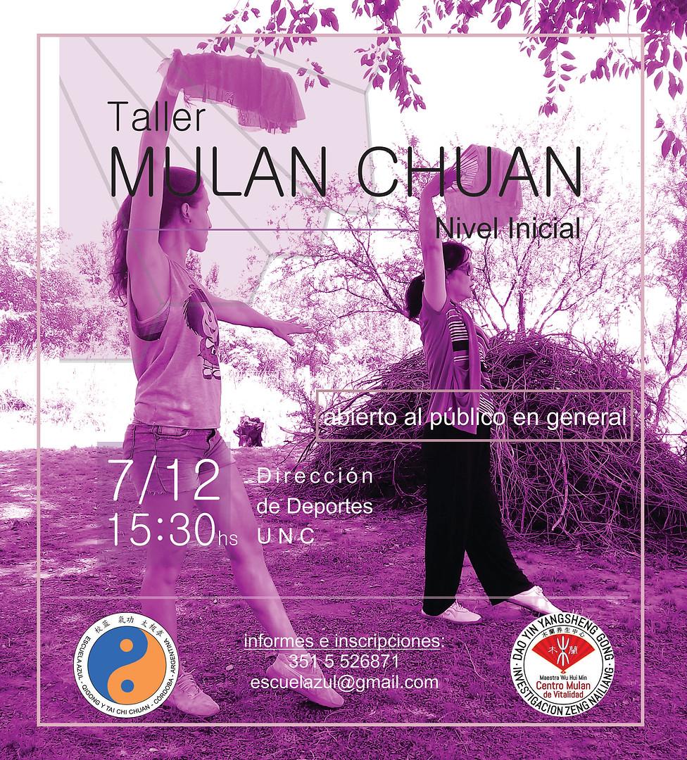 Taller Mulan - Dic 2019