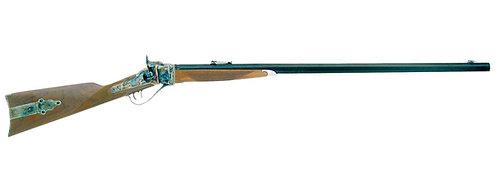 """1874 SHARPS RIFLE DOWN SOUS (ÉTUI COULEUR) 45-70 / 34 """"BBL"""