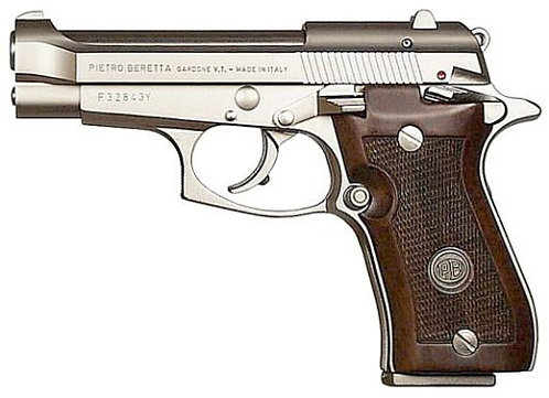 Beretta 85 FS CHEETAH NICKEL 380 AUTO