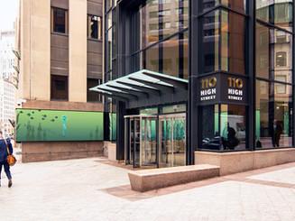 Boston Corporate Lobby