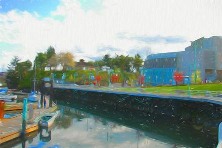 Abstract Painting Nanaimo
