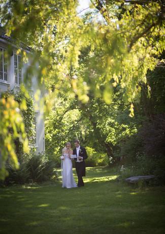 Maria Tveten & Arne Simensen - Brudepar1
