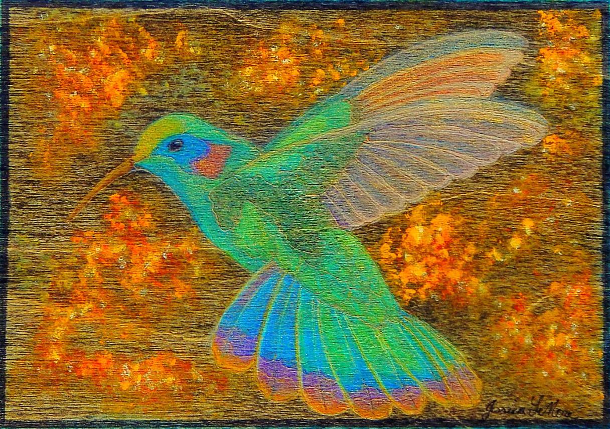 Humming Bird (Sold)