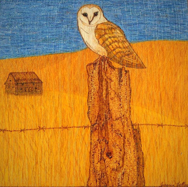 Perched Owl (Sold)