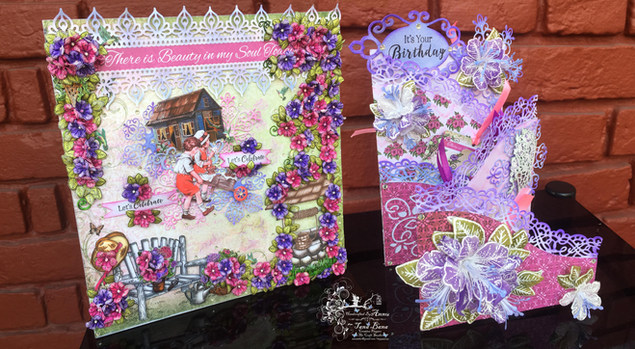 """""""My Final Submission For Heartfelt Creations With Classic Petunia Collection""""."""