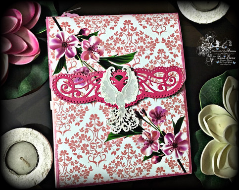 Album Made Using My Pattern Papers With Heartfelt Creations Pockets And Flipfold Inserts E and F
