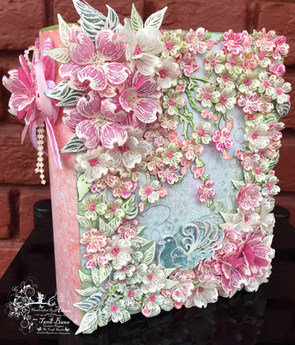 Book Box With Heartfelt Creations Flowering Dogwood Collection