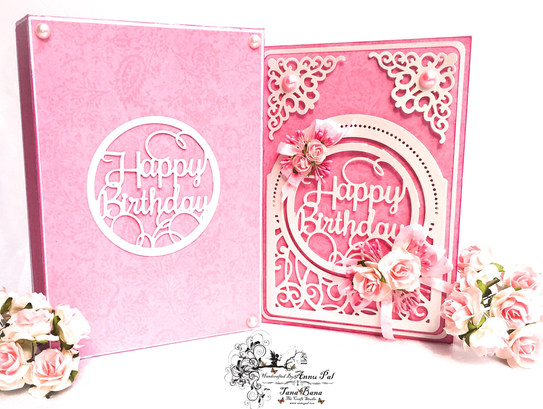 A Birthday Card With Spellbinders 3D Layered Dies