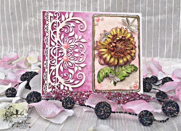 Enchanted Mum Floral Card