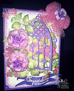 CAS Card with Heartfelt Creations