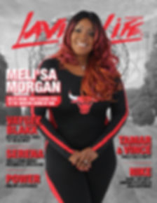Lavish Life Magazine Cover (Melisa  Morg