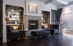 The Fireplace in the main bar