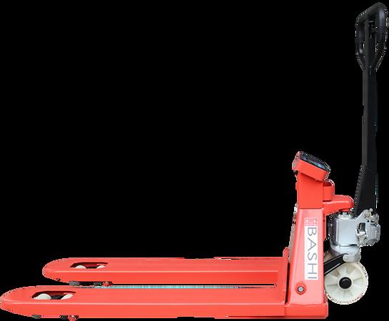 BASHI BES-S 經濟型電子磅手唧車,無需搬貨過板亦可即時計重