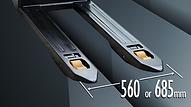 STV ZR系列 可訂購685mm叉闊及5種特殊叉長