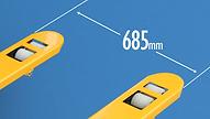 Sumo S系列高剛性唧車,可選購685mm闊叉