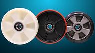 Sumo S系列高剛性唧車,方向輪可選用尼龍/PU/橡膠
