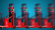 FW鏟車式堆高機,可由由予設的三段速行車提升至更順滑的無段式操控